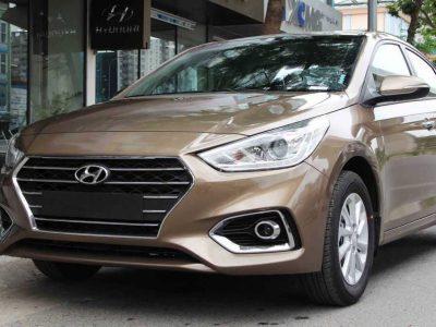 Hyundai Accent Màu Vàng Be