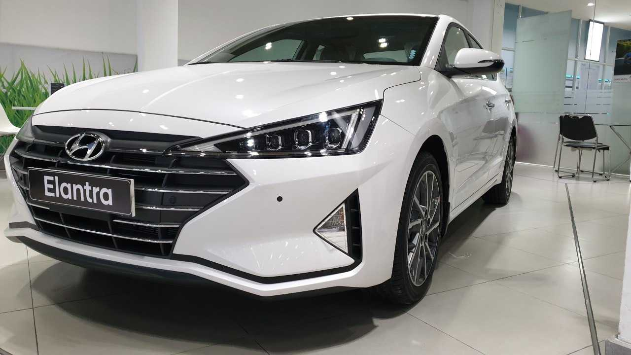 Read more about the article Hyundai Elantra 2019 Trắng