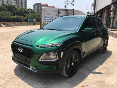 Hyundai Kona Màu Xanh Thẫm