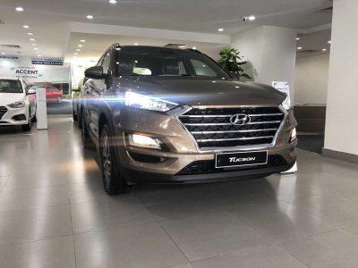 Hyundai Tucson 2019 Màu Vàng Be
