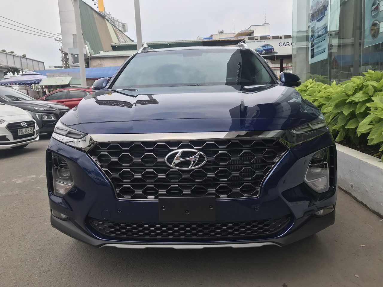 Hyundai Santafe Xanh Thẫm 9