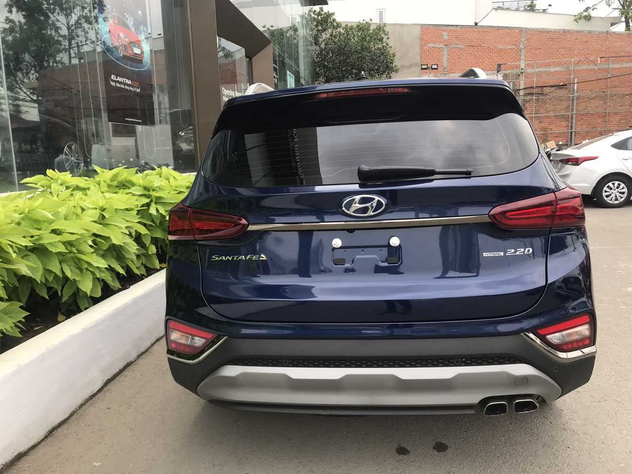 Hyundai Santafe Xanh Thẫm 12
