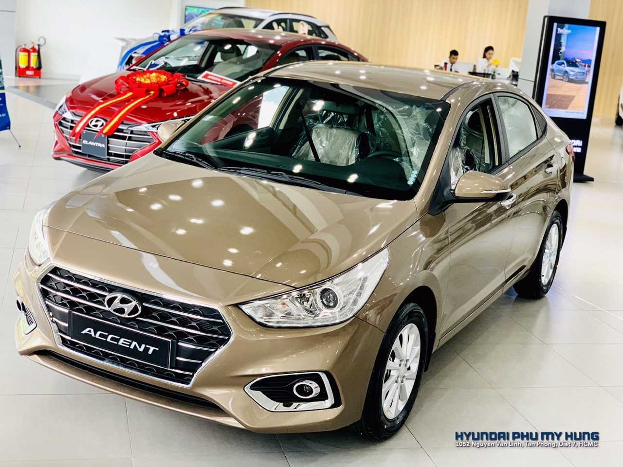 Read more about the article Hyundai Accent 2019 MT 1.4 Vàng Cát