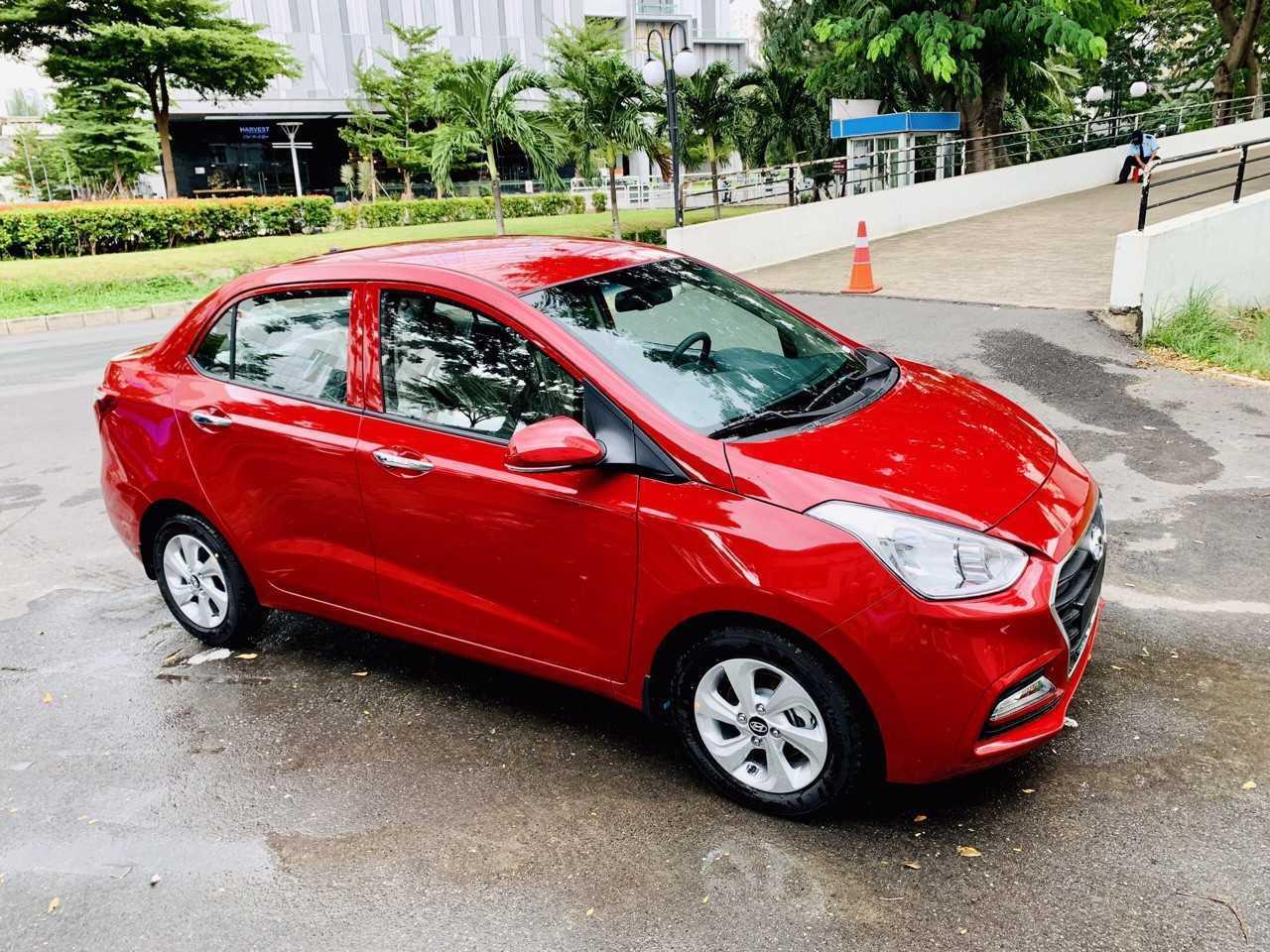 Read more about the article Hyundai Grand i10 Sedan Đỏ