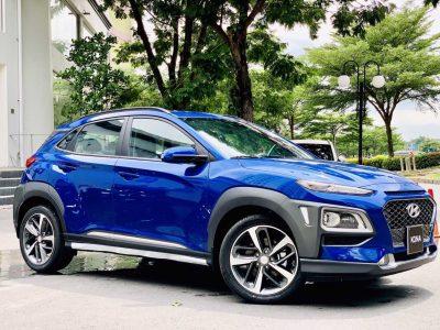 Hyundai Kona Màu Xanh